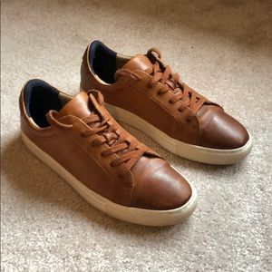 Men's brown leather Banana Republic shoes